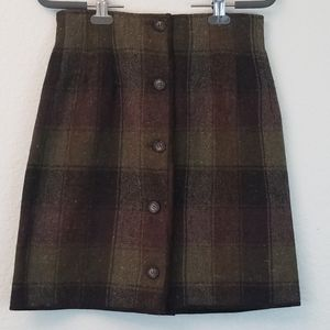 Breeches tweed skirt sz 8 VINTAGE
